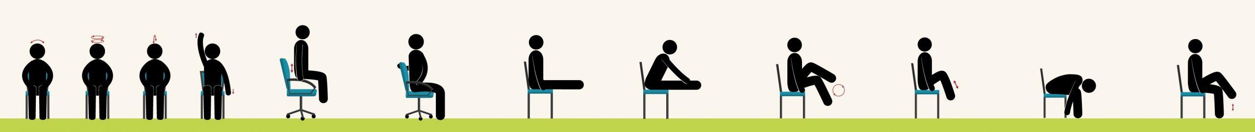Упражнения, которые можно делать сидя против боли в спине